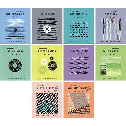 Комплект тематических тетрадей Апплика, 10 шт от АппликА