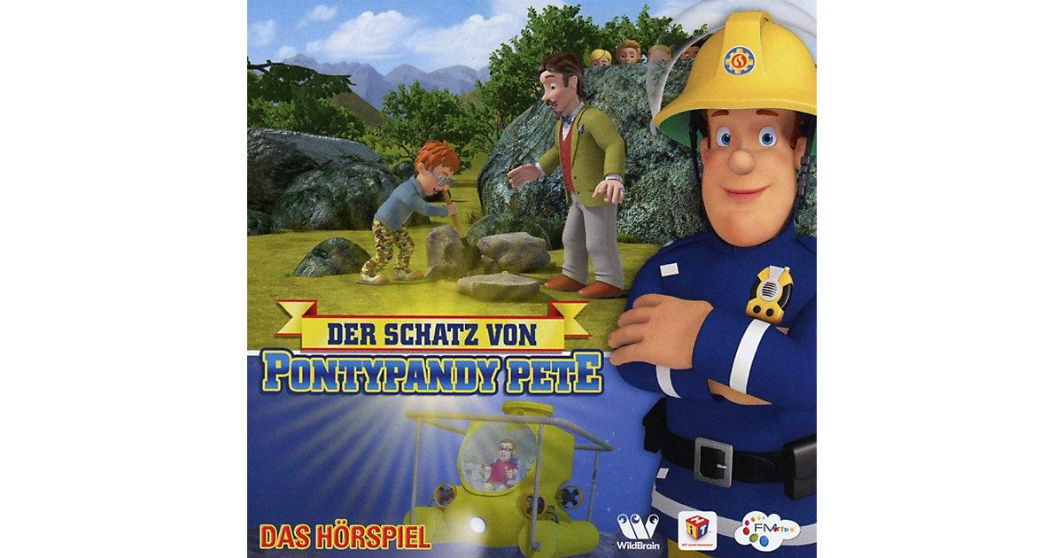 CD Feuerwehrmann Sam - Der Schatz von Pontypandy Pete Hörbuch