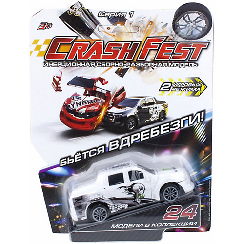 Машинка инерционная 1TOY CrashFest от 1Toy