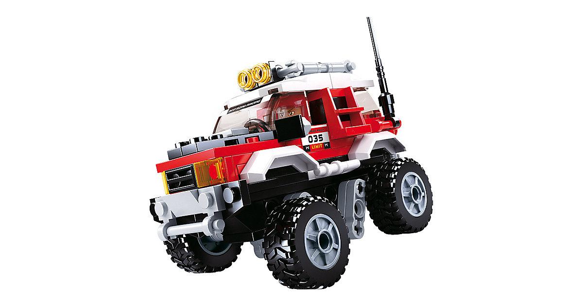 Offroad-Fahrzeug - Rot (142 Teile)