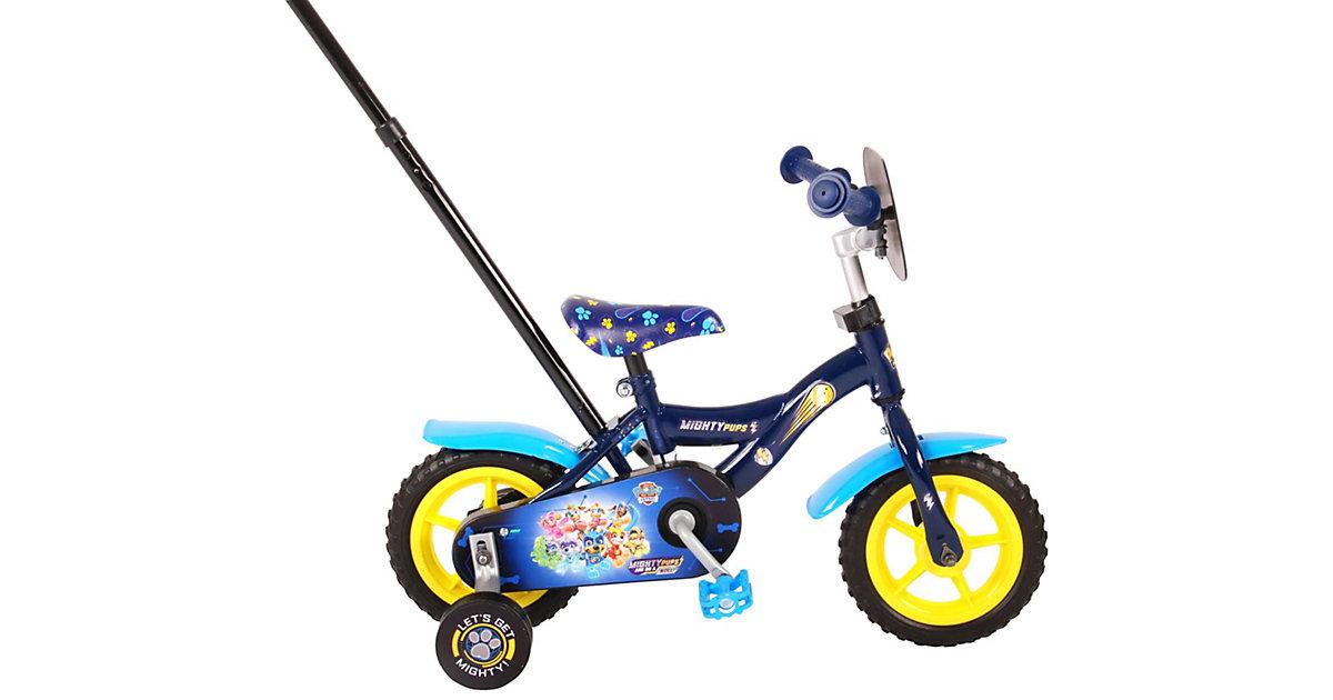 Mighty Pups 10 Zoll Kinderfahrrad blau   Kinderzimmer > Spielzeuge > Kinderfahrräder   Volare