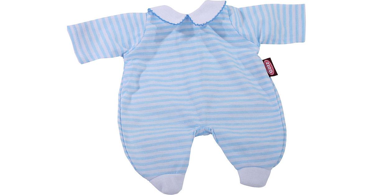 Puppenkleidung Anzug blue stripes, 48 cm blau
