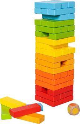 Farbspaß Wackelturm