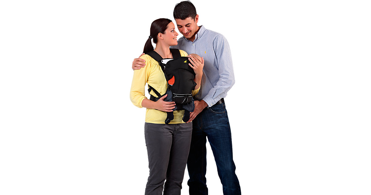 Babytrage 3-Way Carrier, black schwarz