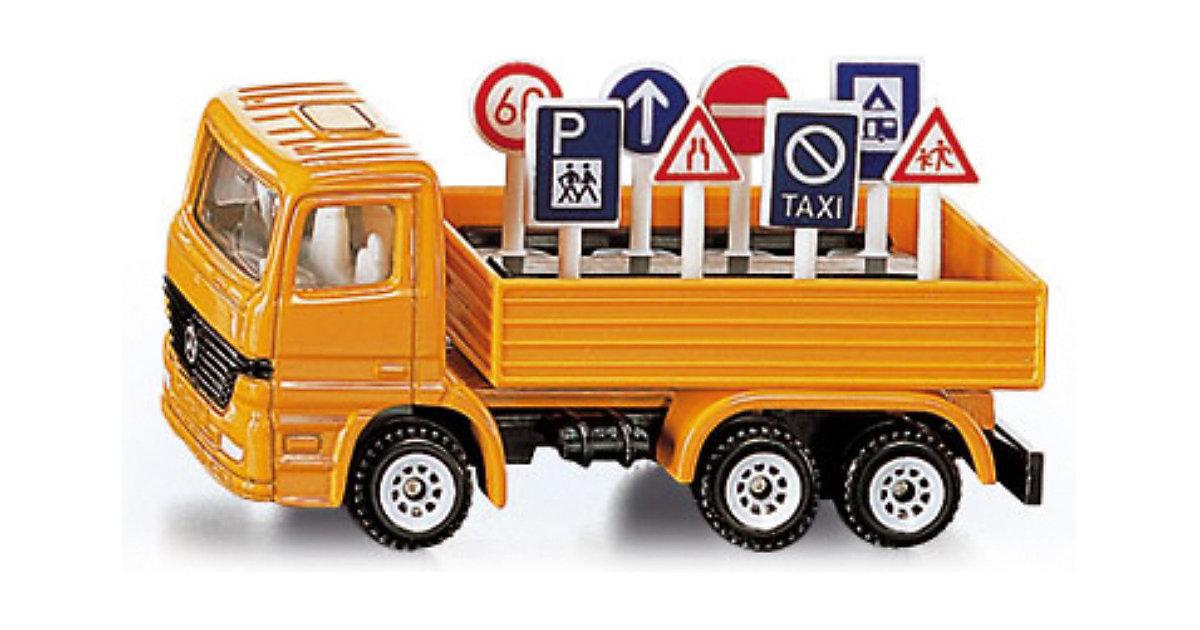 Foto 3 SIKU 1322 LKW mit Verkehrszeichen