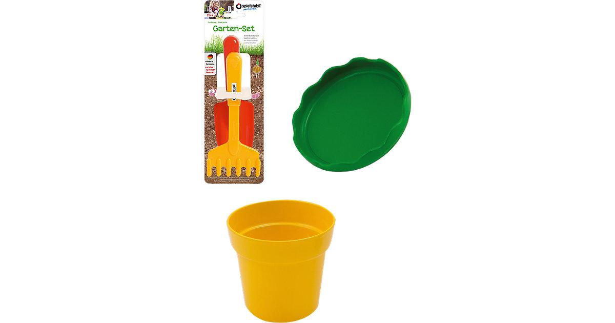 Garten-Set 2-teilig sowie gratis Blumentopf und Untersetzer