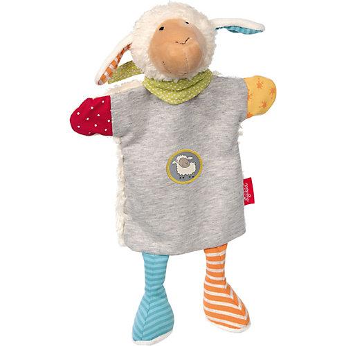 Мягконабивная игрушка Sigikid, комфортер игрушка на руку Овечка Болли, 33 см от Sigikid