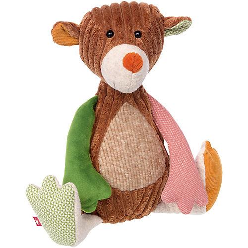 Мягкая игрушка Sigikid Медвежонок Лоскутки, 32 см от Sigikid