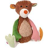 Мягкая игрушка Sigikid Медвежонок Лоскутки, 32 см