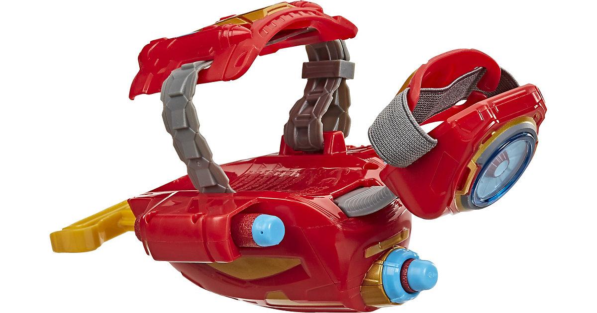 NERF Power Moves Marvel Avengers Iron Man Repulsor-Blaster, NERF Dart-Abschuss, Rollenspiel, Spielzeug Kinder ab 5 Jahren mehrfarbig  Kinder