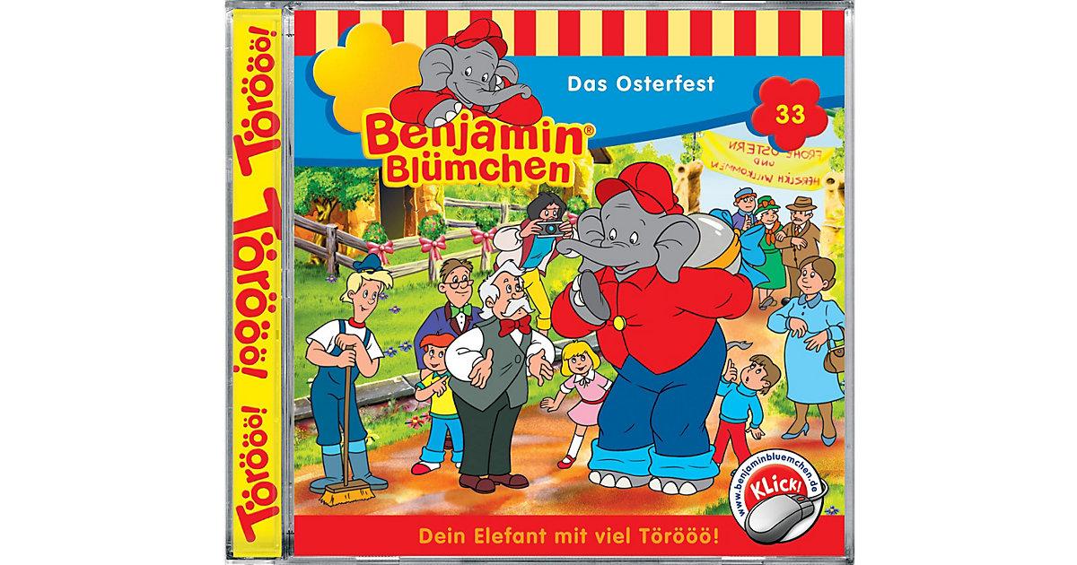 CD Benjamin Blümchen 33 - Das Osterfest Hörbuch