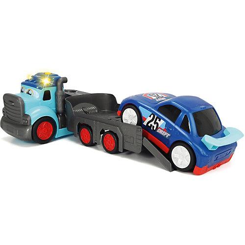 Машинка Dickie Toys Трейлер Happy с прицепом свет, звук, 60 см от Dickie Toys