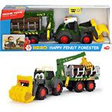 Лесовоз Dickie Toys Happy Fendt, свет, зву, 65 см