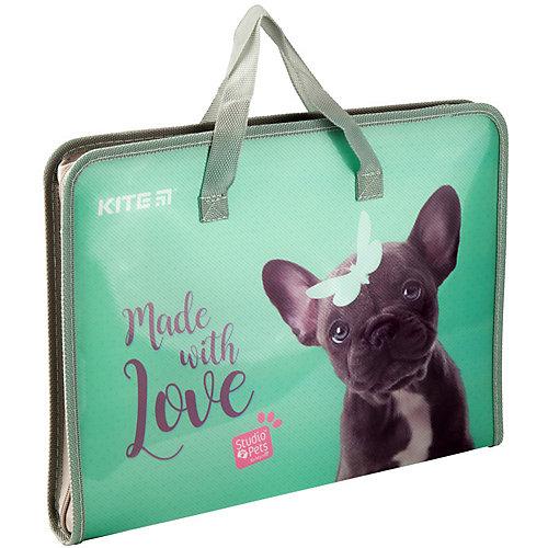 Папка-портфель Kite Fast Studio Pets, А4 от Kite