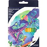 Акварельные карандаши Kite, 36 цветов