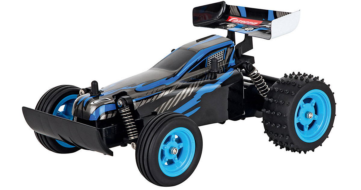 2,4GHz RC Race Buggy, blue blau