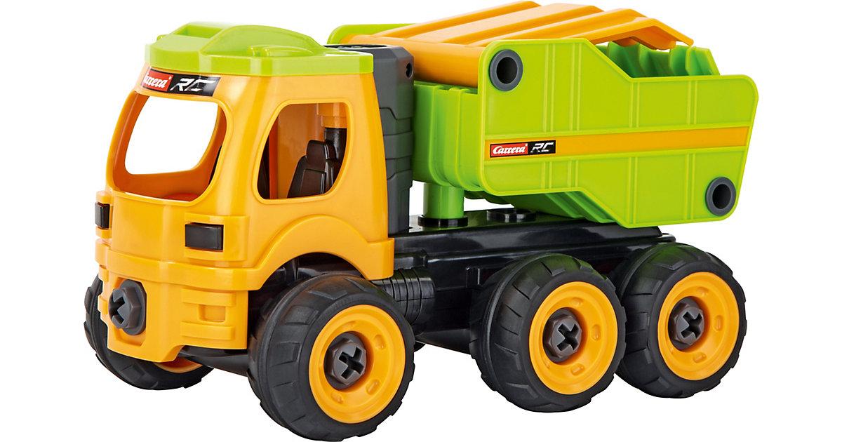 Carrera First 2,4GHz RC Dump Truck gelb/grün