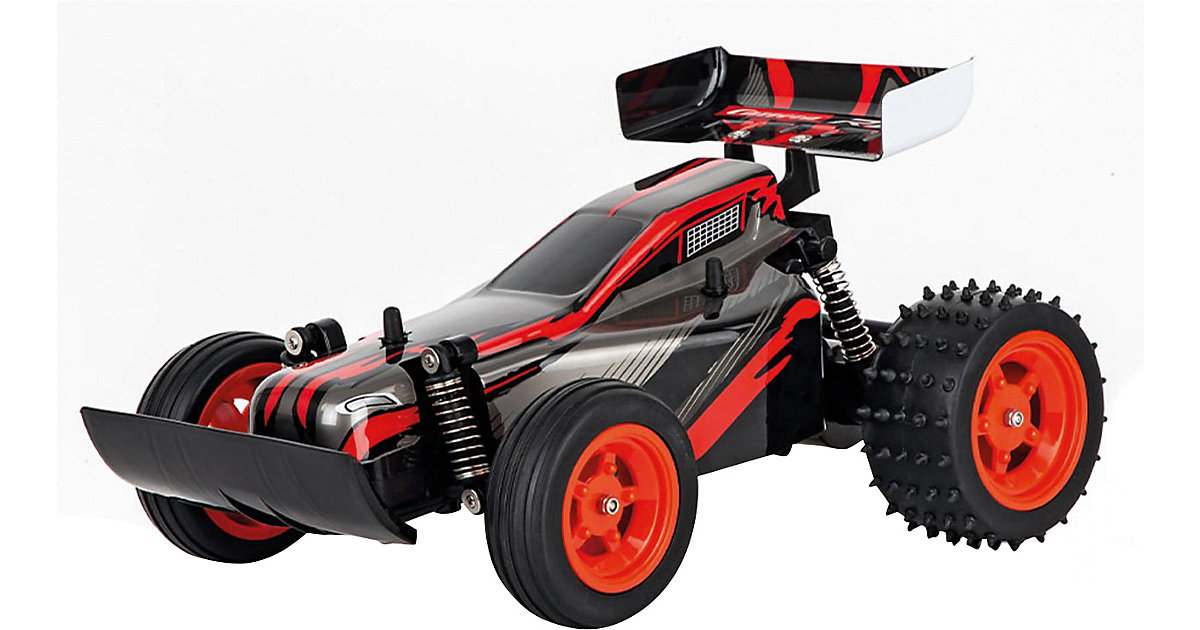 2,4GHz RC Race Buggy, red rot
