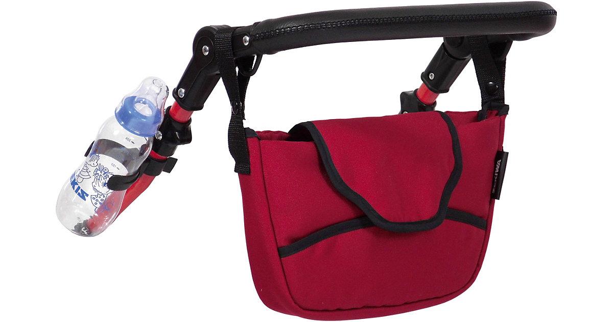 Anhängetasche, Dreiteiliges Zubehörset rot