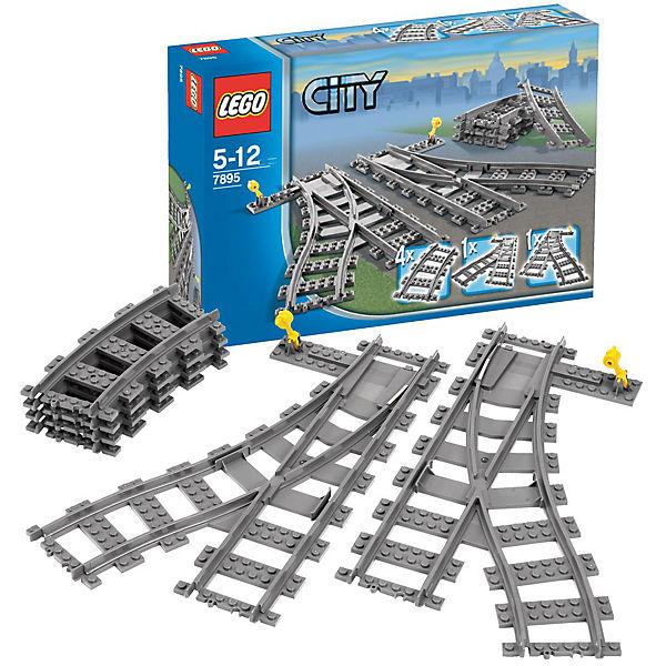LEGO 7895 City: Weichenpaar, LEGO City