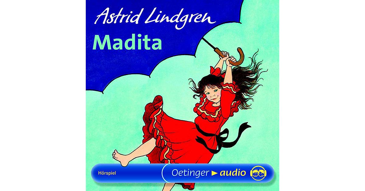 CD Madita - Astrid Lindgren, 1 Audio-CD Hörbuch