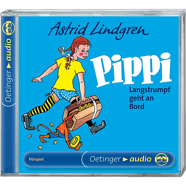 Cd Pippi Langstrumpf Geht An Bord 1 Audio Cd Astrid Lindgren Mytoys