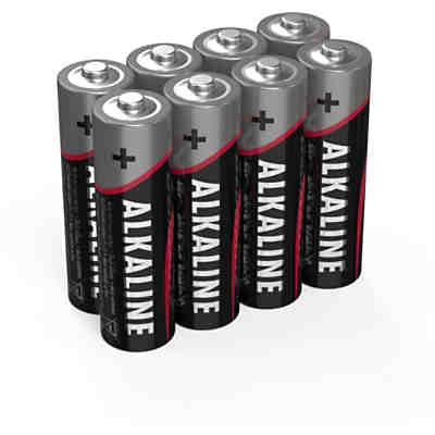 Batterien Alkaline red 1.5V AA sh8