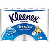 Туалетная бумага Kleenex Delicate White 2 слоя, 12 шт