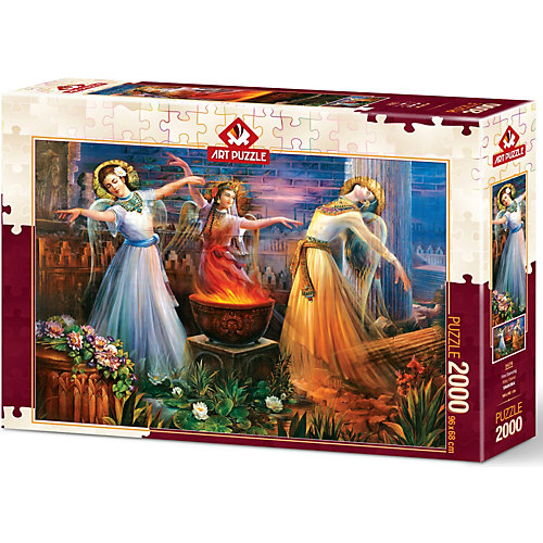 Пазл Art Puzzle Вода, Огонь и Земля, 2000 деталей от Art Puzzle