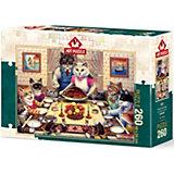 Пазл Art Puzzle Кошачий семейный праздник, 260 деталей