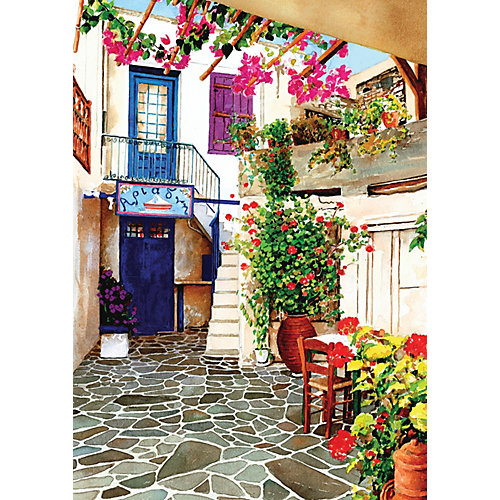 Пазл Art Puzzle Двор с цветами, 260 деталей от Art Puzzle