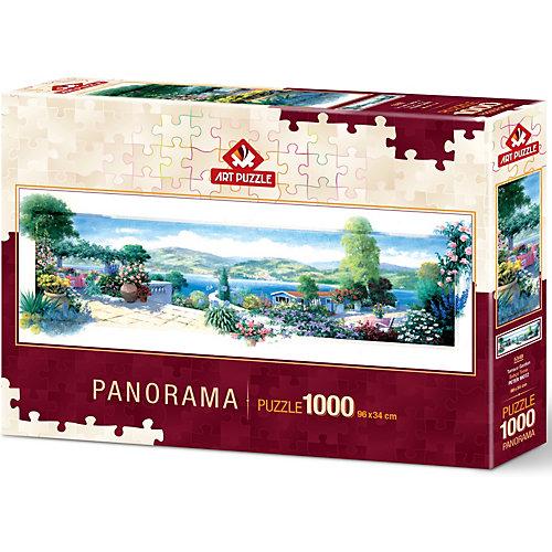 Пазл панорама Art Puzzle Террасный сад, 1000 деталей от Art Puzzle