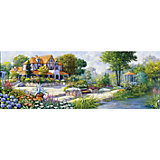 Пазл панорама Art Puzzle Английский коттедж, 1000 деталей