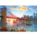Пазл Art Puzzle Закат над Нью-Йорком, 1000 деталей