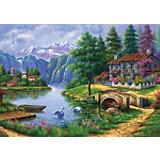 Пазл Art Puzzle Деревня у озера, 1500 деталей