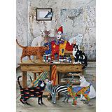 Пазл Art Puzzle Цветные кошки, 260 деталей
