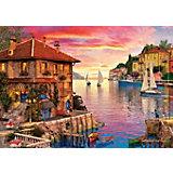 Пазл Art Puzzle Средиземноморская гавань, 1500 деталей
