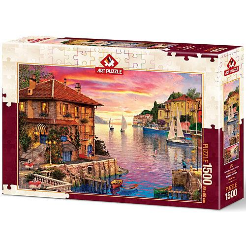 Пазл Art Puzzle Средиземноморская гавань, 1500 деталей от Art Puzzle