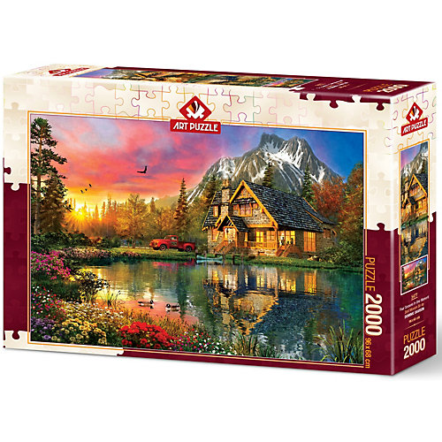 Пазл Art Puzzle Четыре сезона в один момент, 2000 деталей от Art Puzzle