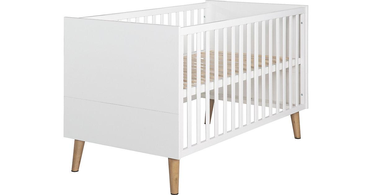Kombi-Kinderbett weiß