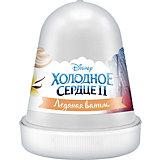 """Флаффи слайм Kiki Холодное Сердце 2 """"Ледяная ваниль"""" белый 120мл"""