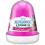 """Флаффи слайм Kiki Холодное Сердце 2 """"Cool бабл-гам"""" розовый 120мл"""