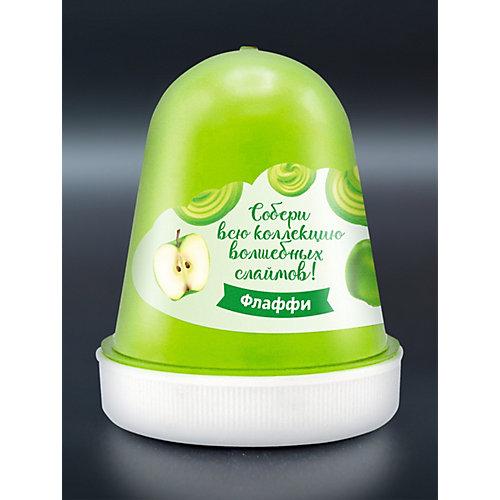 """Флаффи слайм Kiki Холодное Сердце 2 """"Зимнее яблоко"""" зеленый 120мл от KiKi"""