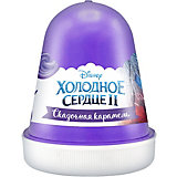 "Флаффи слайм Kiki Холодное Сердце 2 ""Сказочная карамель"" фиолетовый 120мл"