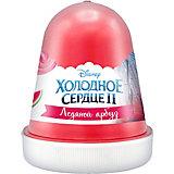 """Флаффи слайм Kiki Холодное Сердце 2 """"Ледяной арбуз"""" красный 120мл"""