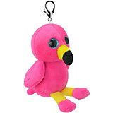 Мягкая игрушка-брелок Wild Planet Фламинго, 8 см
