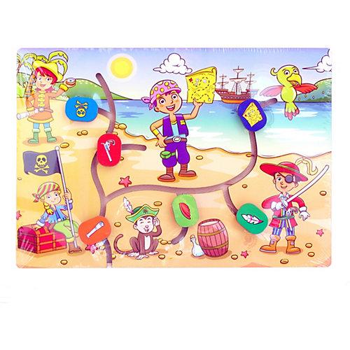 Сортер-лабиринт Paremo Остров сокровищ, 7 элементов