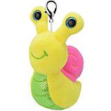 Мягкая игрушка-брелок Orbys Улитка, 8 см
