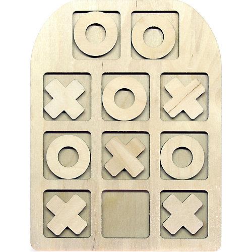 Настольная игра-вкладыши Paremo Крестики-нолики, 10 элементов от PAREMO