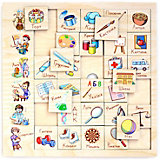 """Игровой набор Paremo"""" Ассоциации"""" Профессия, 30 элементов"""